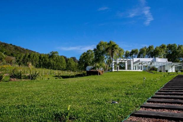 3por4: Espaço Santorini Garden abre as portas para a comunidade, no interior de Bento Gonçalves Santorini Garden/Divulgação