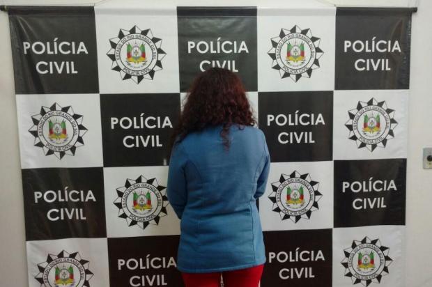 Mulher envolvida com organização que repassava drogas ao Apanhador é presa em Farroupilha Polícia Civil/Divulgação