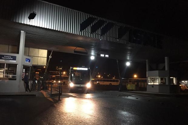 Ônibus do transporte coletivo circularam normalmente nesta sexta-feira, em Caxias Raquel Fronza / Agência RBS/Agência RBS