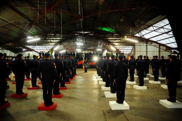 Unidos para salvar vidas: 53 novos bombeiros se formam em Caxias do Sul Marcelo Casagrande/Agencia RBS