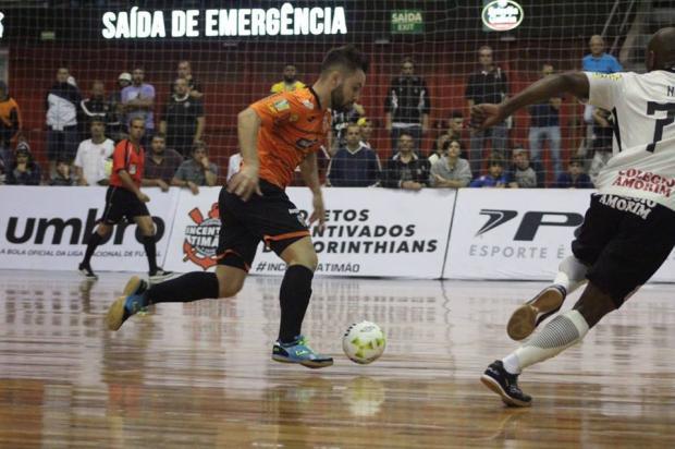 ACBF perde para o Corinthians em São Paulo e se distancia dos líderes na Liga Nacional de Futsal yuri gomes / Divulgação/Divulgação