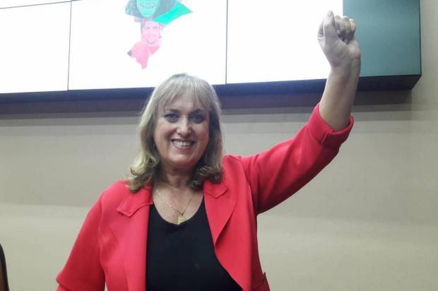 Presidente do PT, Ana Corso, assume na Câmara em Caxias e nega proximidade com Guerra Gabriel Neves/Divulgação