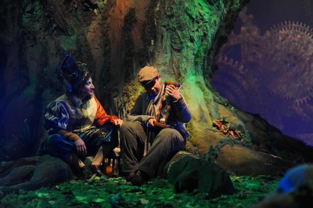 3por4: Espetáculo Korvatunturi terá sessões extras no mês de julho, em Gramado Cibele Peccin/Divulgação