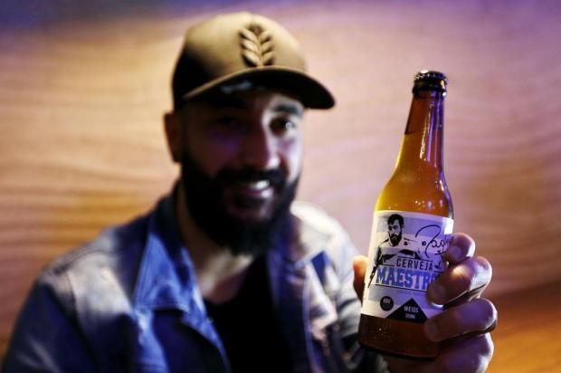 Empresa de Caxias produz aMaestro10, cerveja do jogadorDouglas, do Grêmio Carlos Macedo/Agencia RBS
