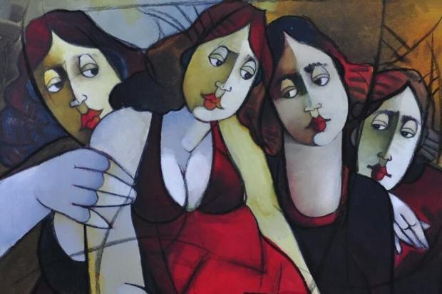 3por4: 1º Salão de Arte de Inverno ocorre no L'America Shopping, em Bento Gonçalves Reprodução/Divulgação