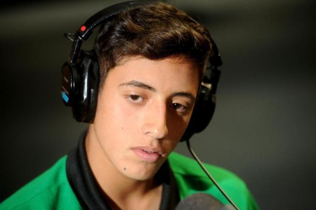 Destaque do Ju, atacante Pedro Bitencourt é convocado pela terceira vez para a seleção brasileira sub-15 Diogo Sallaberry/Agencia RBS