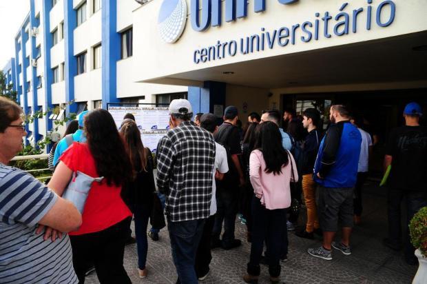 Mais do que vestibular:Feira de Profissões, em Caxias, contabilizou 36,4 candidatos por vaga Marcelo Casagrande/Ag