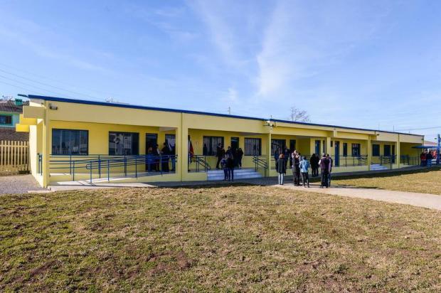 Ampliação de escola municipal de Caxias é inaugurada, mas 324 vagas não serão ocupadas Petter Campagna Kunrath/Agencia RBS