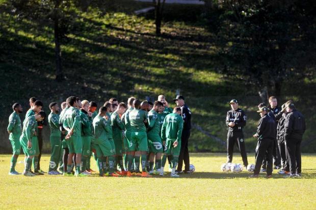 Técnico do Juventude prevê evolução do time nas próximas rodadas Diogo Sallaberry/Agencia RBS