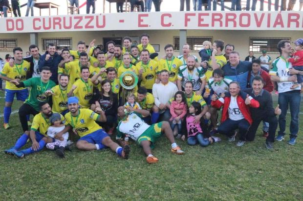 Rosário, de Pinto Bandeira, comemora o bicampeonato da Copa Libertadores do Nordeste Fabiano Martins/FML Esportes,Divulgação
