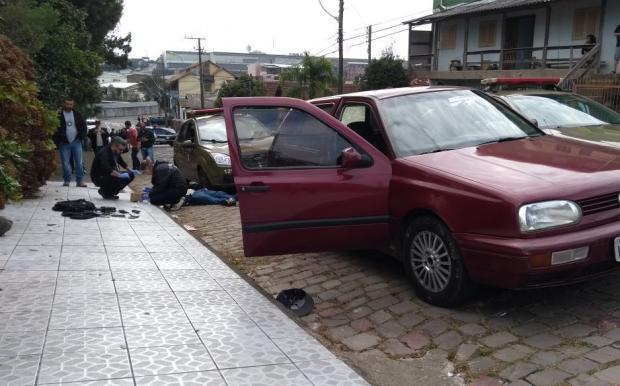 Após confronto com a polícia, foragido da Justiça morre em Caxias Mateus Frazão/