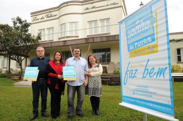 Terceira edição do Sonho de Patrick ajudará entidades de Caxias do Sul Diogo Sallaberry/Agencia RBS