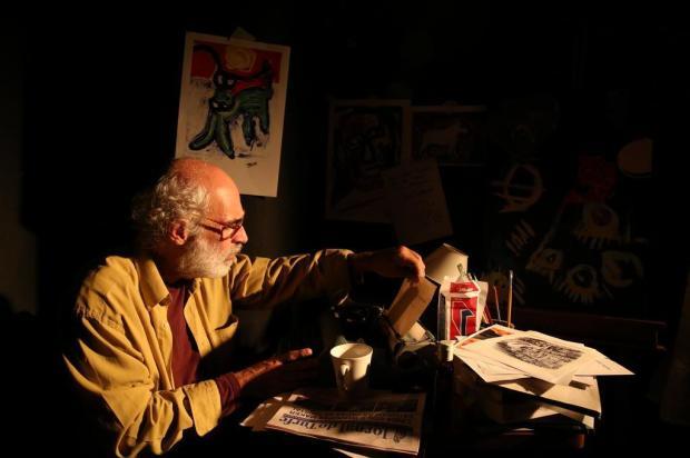 """Espetáculo """"Bukowski - Histórias da Vida Subterrânea"""" é opção nesta quinta-feira, em Caxias Adriana Franciosi/Agencia RBS"""