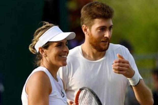 Demoliner avança às semifinais das duplas mistas em Wimbledon Instagram/Reprodução