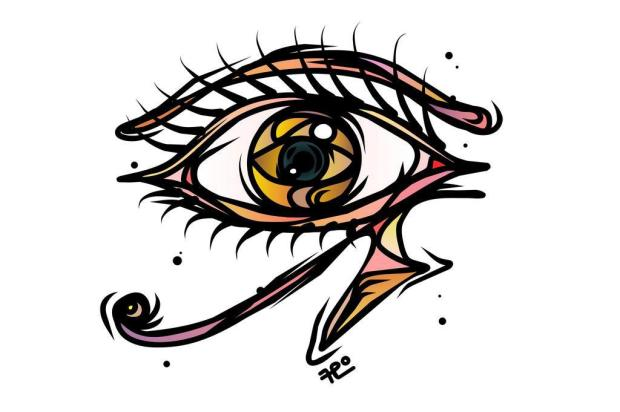 Tríssia Ordovás Sartori: Ode ao olho no olho Fábio Panone Lopes/Ilustração