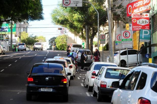 Corrida para abastecer a R$ 3,09 em posto de Caxias do Sul Marcelo Casagrande/Agencia RBS