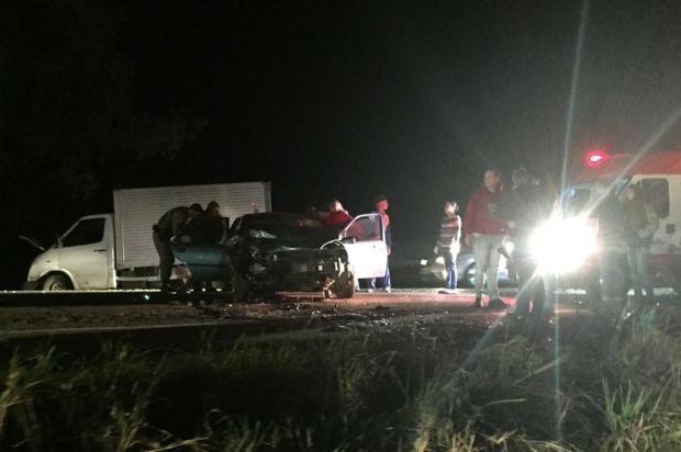 Acidente na RSC-453, entre Farroupilha e Garibaldi, deixa três feridos André Tajes/Agência RBS