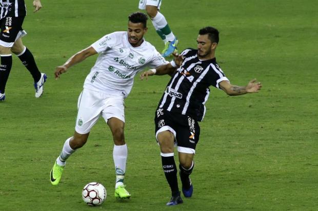 Jogadores do Juventude lamentam time desligado no começo do jogo na primeira derrota fora de casa LC Moreira/Estadão Conteúdo