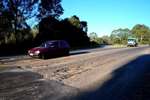 Estradas entre Caxias do Sul, Farroupilha e Garibaldi nunca estiveram tão precárias Marcelo Casagrande/Agencia RBS
