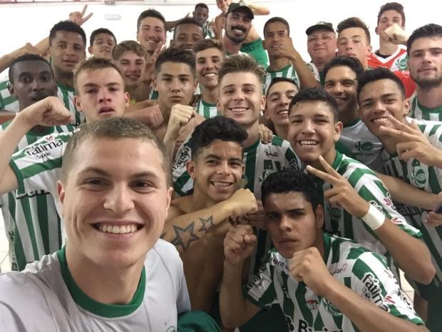 Time sub-17 do Juventude conquista classificação heroica e avança às oitavas de final da Taça BH Carlos Santana / Divulgação/Divulgação