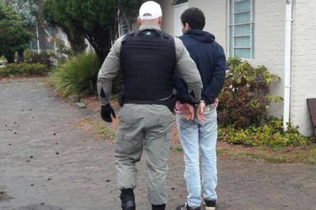 Brigada Militar de Canela prende foragido pela terceira vez neste ano Brigada Militar/divulgação