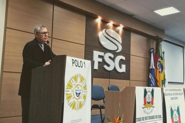 Evento em Caxias orienta diretores de 68 escolas sobre aplicação de recursos para reformas Mateus Frazão/Agencia RBS