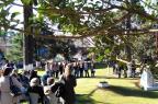 Comunidade recorda os 74 anos da explosão de 1943 no Memorial Gazola, em Caxias do Sul (Rodrigo Lopes/Divulgação)