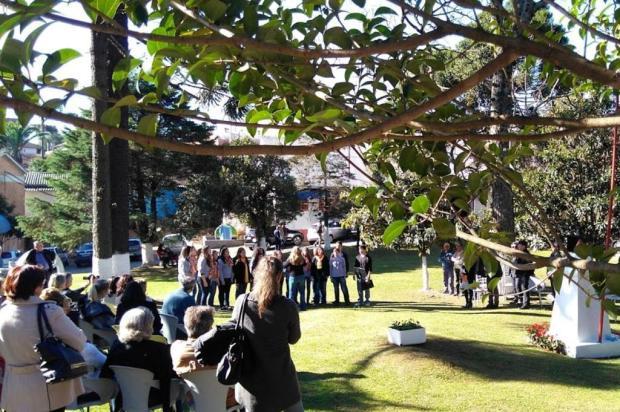 Comunidade recorda os 74 anos da explosão de 1943 no Memorial Gazola, em Caxias do Sul Rodrigo Lopes/Divulgação