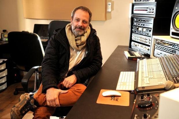 """""""Toda repressão gera uma reação"""", afirma Guilherme Kastrup, que ministrou oficina de produção musical em Caxias Diogo Sallaberry/Agencia RBS"""