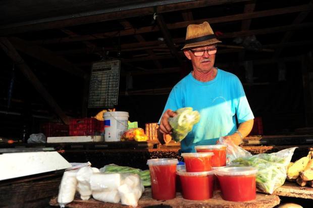 Comerciantes da Feira do Agricultor de Caxias não podem vender produtos sem registro a partir desta terça-feira Porthus Junior/Agencia RBS