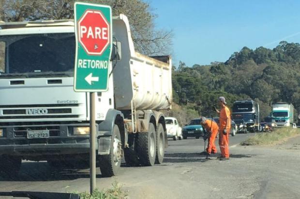 Às vésperas da Festa da Uva, estradas estaduais do entorno de Caxias não têm previsão de manutenção Larissa Lazzari/Divulgação