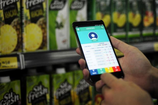 Aplicativo ajuda a escolher alimentos mais saudáveis no supermercado Marcelo Casagrande/Agencia RBS