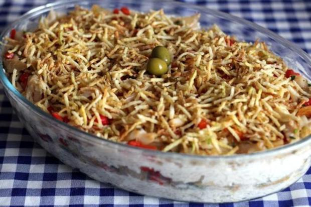 Neste dia dos pais, prove arroz de forno de bacalhau Pitadinha/Divulgação