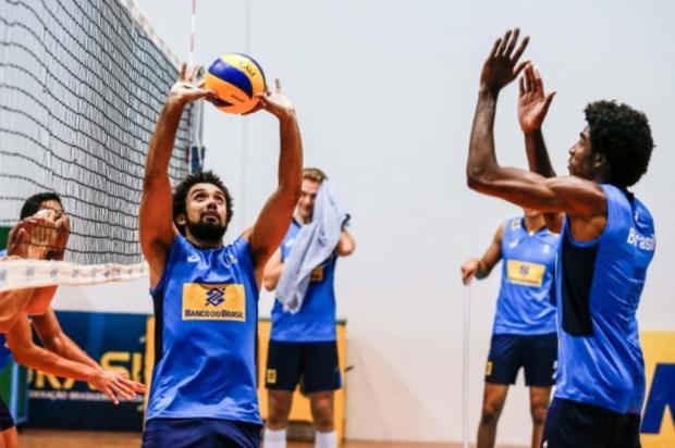 Caxiense Fernando Cachopa vive a expectativa pela estreia no seu terceiro Mundial Sub-23 pela seleção CBV/Divulgação