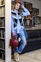 3por4: B. Bag eSaintelle Boutique mostram coleção em editorial de moda Edson Menegat/Divulgação