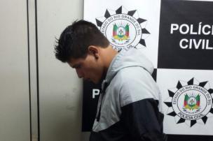 Polícia Civil prende suspeito de homicídio ocorrido em julho, em Caxias (Divulgação/Divulgação)