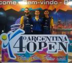 Dupla da ACTKD disputa o Argentina Open de taekwondo neste sábado Arquivo pessoal / Divulgação/Divulgação
