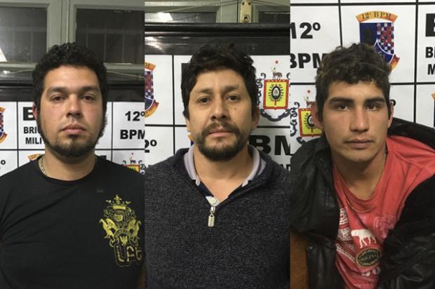 Polícia procura outras vítimas de trio que confessou matar dono de padaria em Caxias do Sul Divulgação/