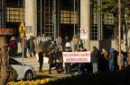 Agressão a manifestante pela Guarda Municipal de Caxias deve ser apurada em sindicância (Diogo Sallaberry / Agência RBS/Agência RBS)