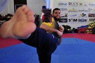 Bronze no Taekwondo: a primeira medalha internacional da ACTKD Marcelo Casagrande/Agencia RBS