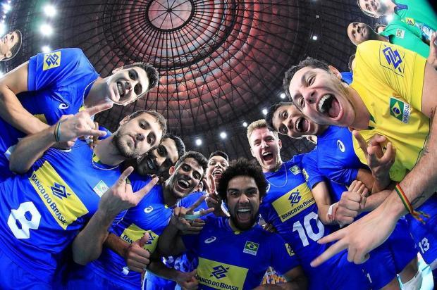Seleção brasileira sub-23, do caxiense Fernando Cachopa, encara a Rússia na semifinal do Mundial FIVB/Divulgação