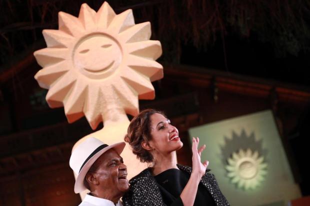 """3por4:Camila Pitanga acompanha homenagem ao pai e apresenta documentário """"Pitanga"""" Diego Vara/Pressphoto"""