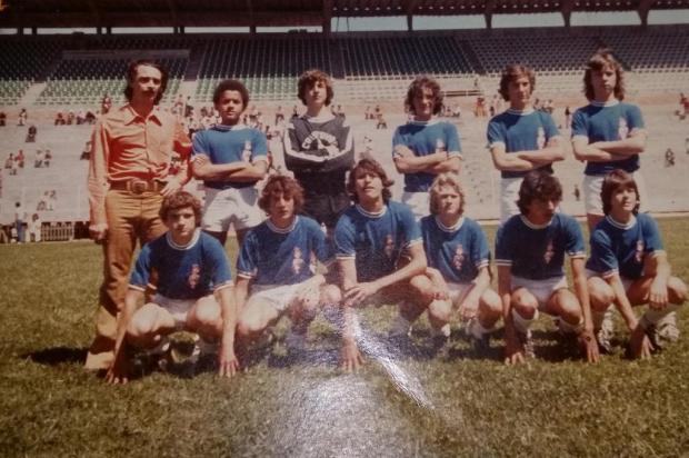 Memória:Campeonato de handebol de 1974 Arquivo Marcílio Filho/Acervo pessoal