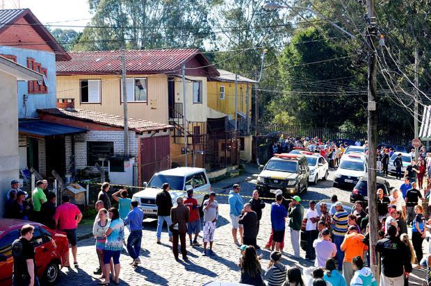 Duas pessoas morrem em confronto com a Brigada Militar em Caxias do Sul Roni Rigon / Agência RBS/Agência RBS