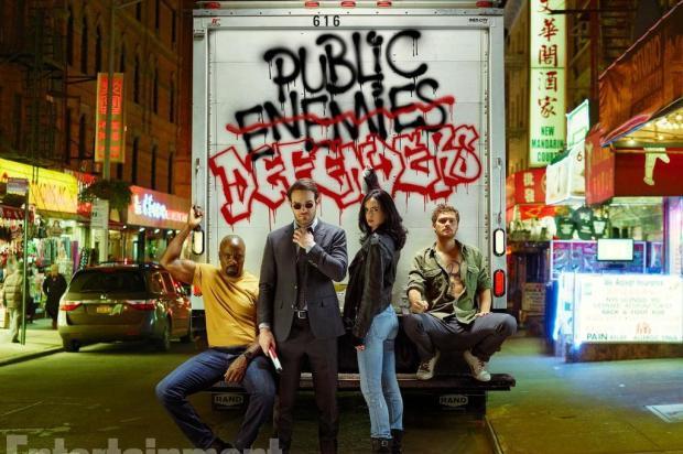 """Série da Semana: Assista """"Os Defensores"""" Entertainment Weekly/Divulgação"""