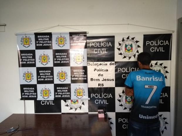 Polícia prende homem por estupro em Bom Jesus Polícia Civil / divulgação/divulgação