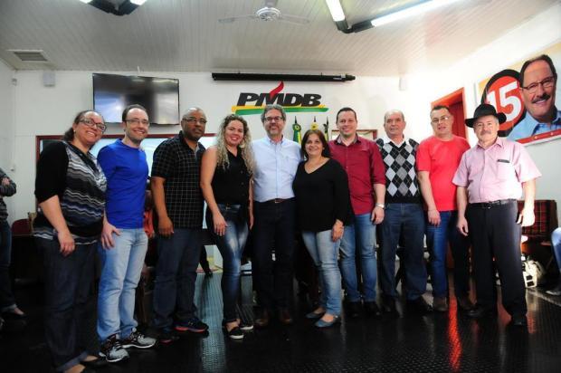 Vereador Paulo Périco é o novo presidente do PMDB de Caxias do Sul Roni Rigon/Agencia RBS