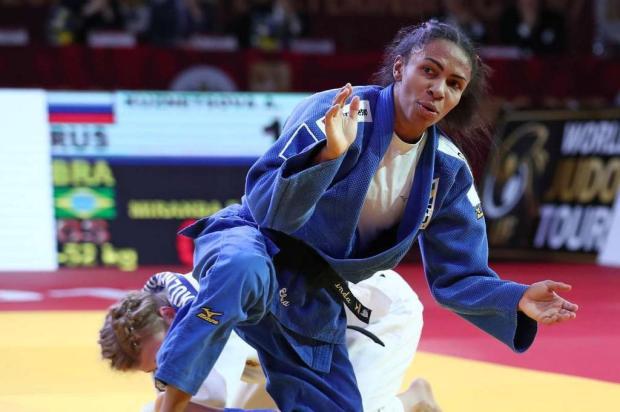 Érika Miranda briga por medalha no Mundial de Judônesta terça-feira IJF/Divulgação