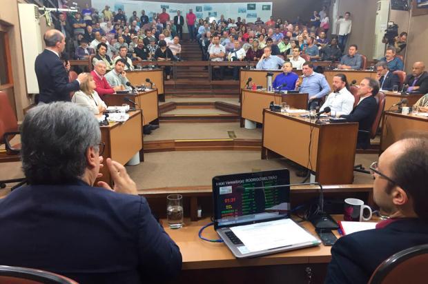 Vereadores de Caxias decidem adiar votação de acolhimento do impeachment de Daniel Guerra André Tajes / Agência RBS/Agência RBS