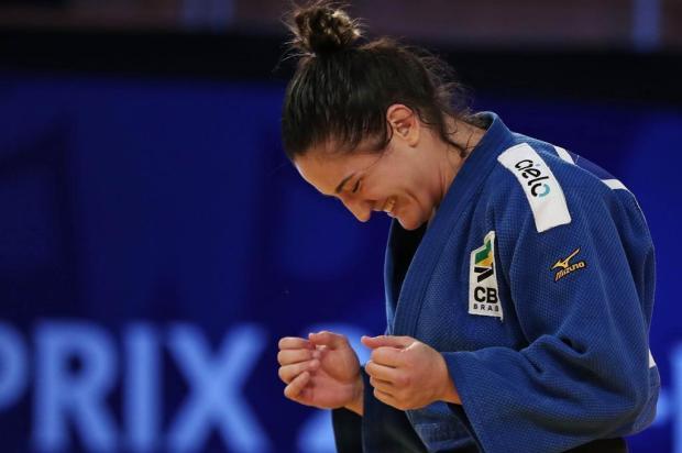 Mayra busca novo recorde no Mundial de judô de Budapeste Sabau Gabriela/IJF,Divulgação